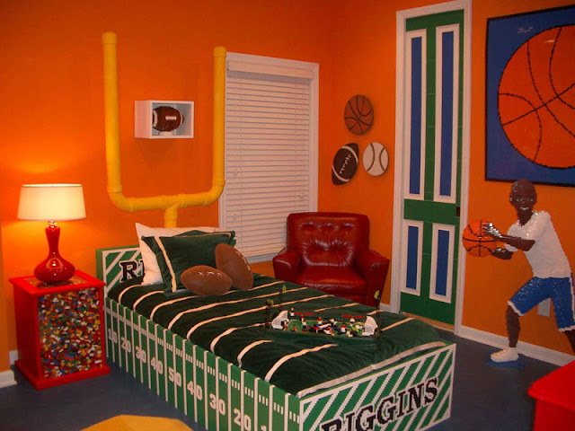 Boys Bedroom Decorating Photos Photograph Boys Sports Bedr