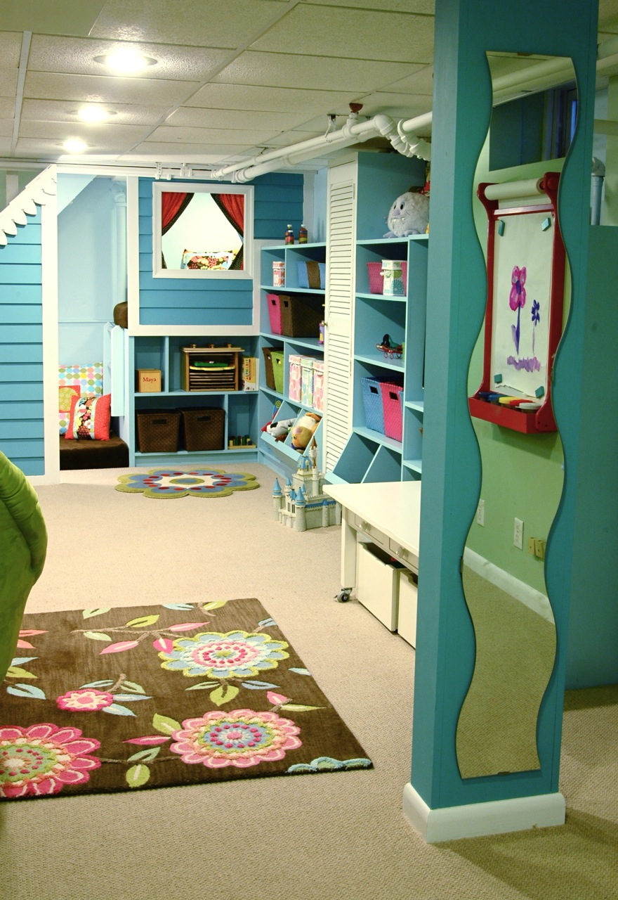 Another Creative Playroom This Playroom Room Is Full Of Color And