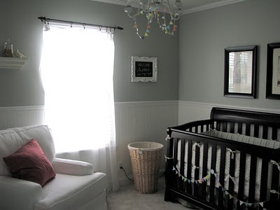 Baby Room Paint on Design Dazzle  Baby Nursery  Silver Sage Paint Color