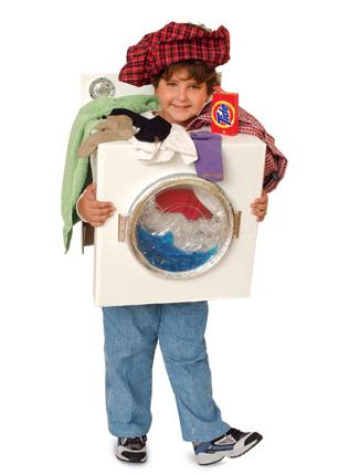 washer machine costume