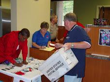 CPCU Staff work Hard at Member Appreciation Day