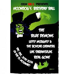 Assorted Mondog's Ballroom gig posters