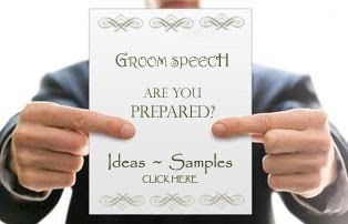 Groom Speech Information