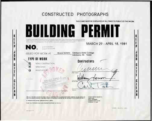 No Building Permit Required
