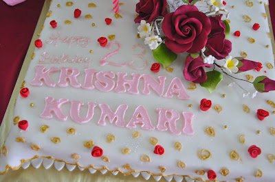 Cake Images With Name Krishna : Applemint Cake Shop Ipoh: Cake for Krishna Kumari