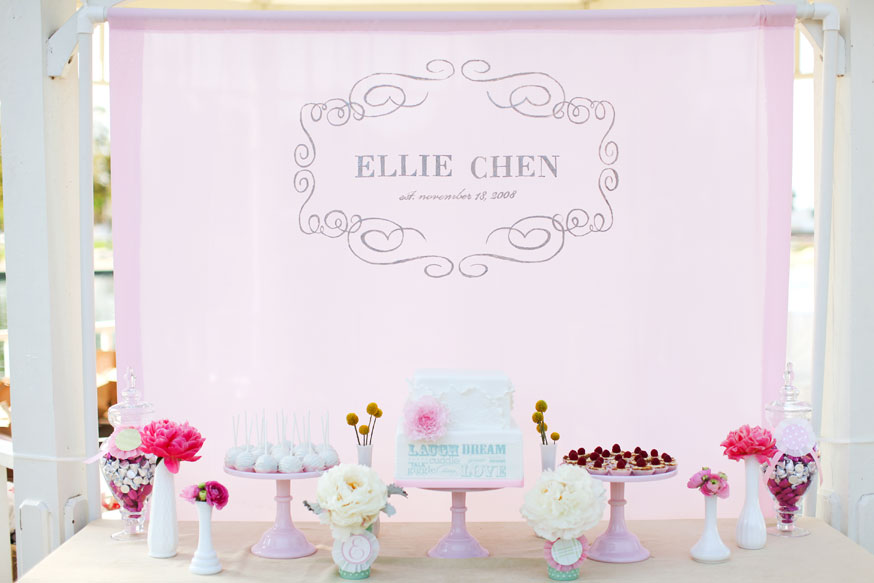 JL DESIGNS: 1st birthday party for baby ellie