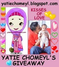 Yatie Chomeyl's giveaway - Kisses of Love