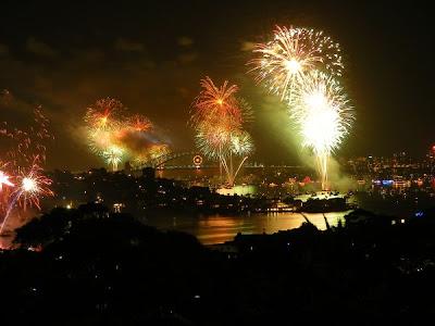 New Year in Sydney, Australia