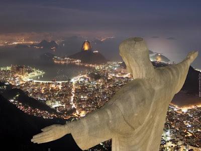New Year in Rio de Janiero, Brazil