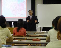 Prof. Ishizawa lectures