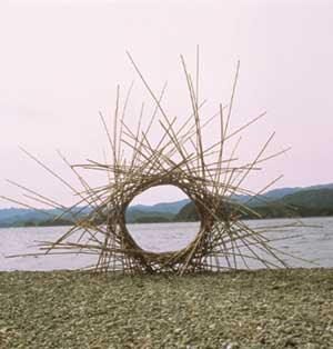 environmental art - Andy Goldsworthy