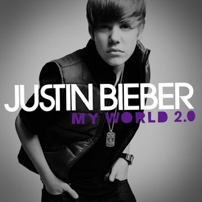 justin bieber cd cover my world 2.0. justin bieber my worlds the