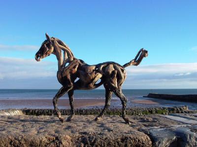 esculturas de caballos Beethoevn+front+dawlish+120