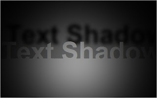 CSS3Τext shadow