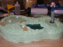 Golf Course Cake