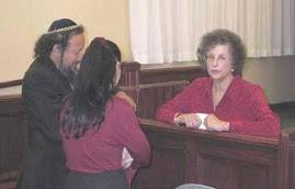 Marlena with Messianic Jews