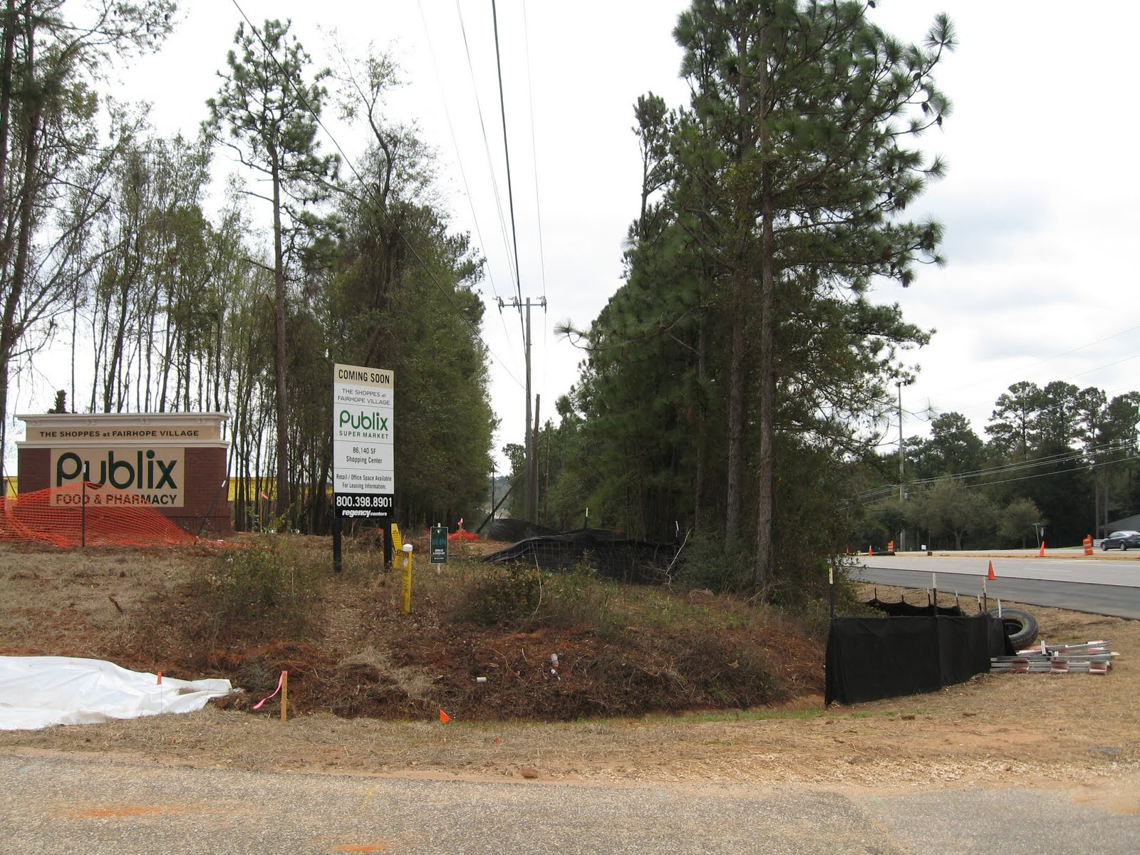 The Fairhope Times Phony Landscaping Company Cut Publix Bank Trees