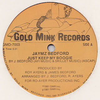 Jamz Bedford - Just Keep My Boogie 12 Inch