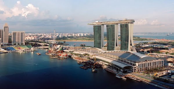 Modern Architect Design: Hotel Marina Bay Sands In Singapore