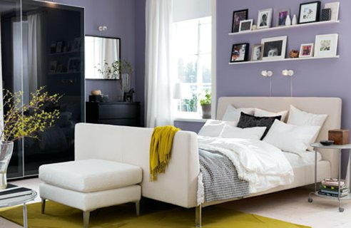 Cozy IKEA bedroom designs, very beautiful bedroom designs from IKEA