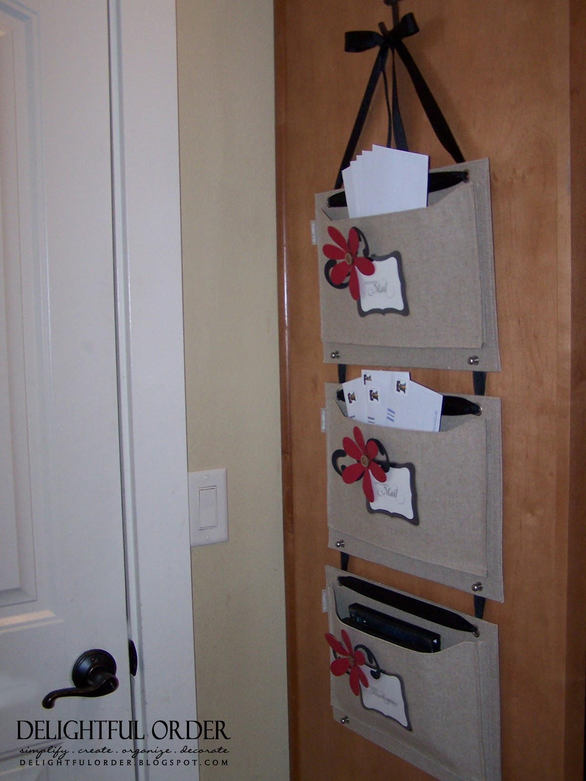 delightful order mail organizer. Black Bedroom Furniture Sets. Home Design Ideas