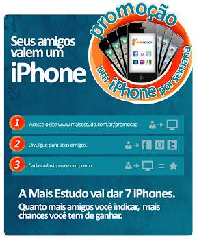 Quer ganhar um Iphone?