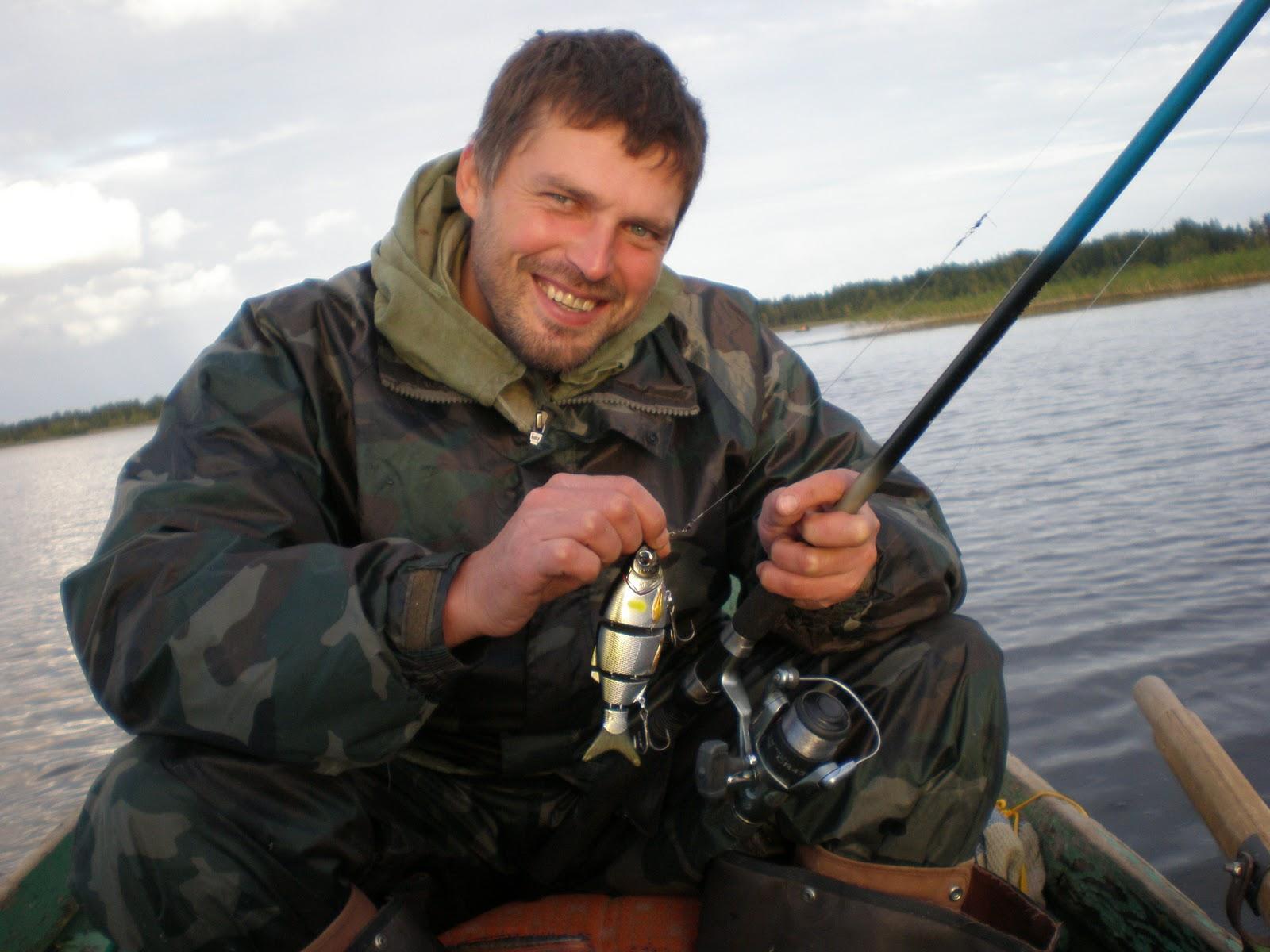 поздней осенью рыбалка