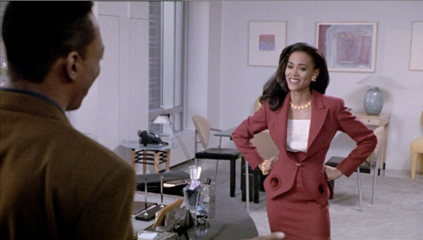 Next to my impeccable mother  Robin Givens Boomerang