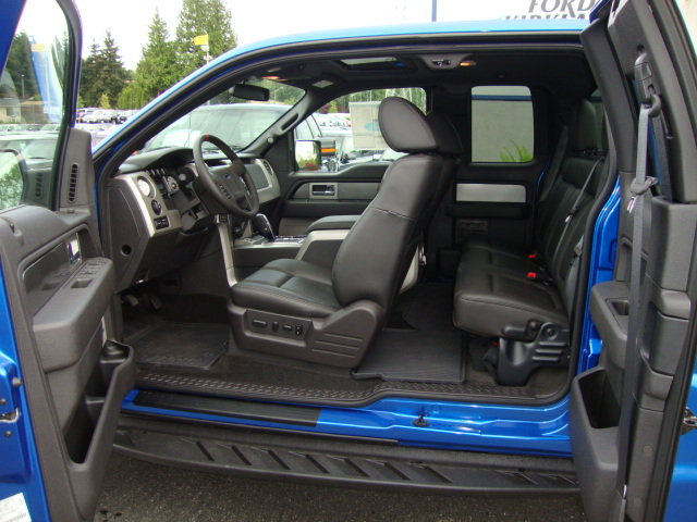 Blue Ford Raptor Interior Progressive Automotive