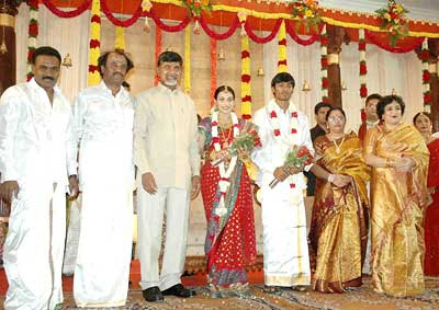 Rajni%27s+Daughter+Wedding+Photo 3 Rajinikanth daughter marriage photos