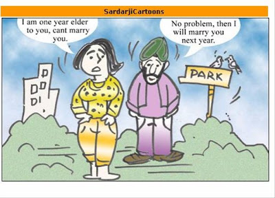 Sardar Funny Animated Orkut Scraps Cartoon