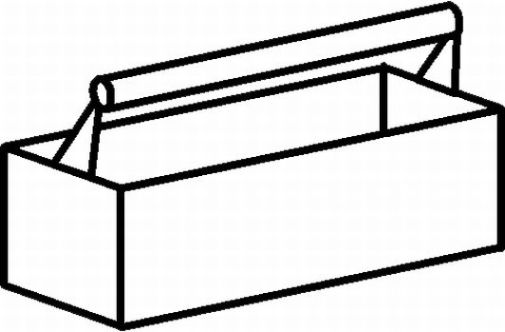 Tool Box Coloring Page Coloring Tool Box Clipart