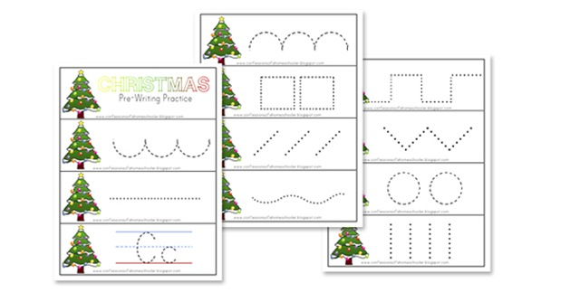 Free Homeschool Printables Christmas Preschool Printables