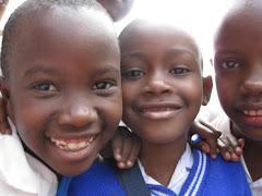 Children in Mabatini for Mwenge Wa Uhuru Ceremony