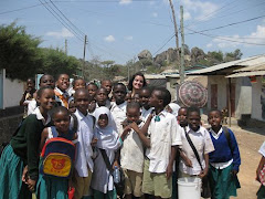 Ashley with Kids in Mabatini