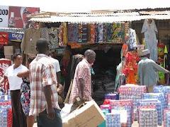 Kitenge Shop at the Sokoni