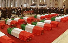 Funerali caduti a Nassiriya