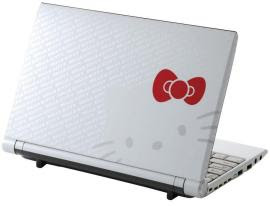 New Hello Kitty Gadget: the C1 Netbook