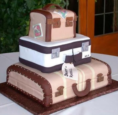 I do inspiration table top tuesday vintage travel edition why not try a cake designed to look like luggage or a vintage world map if there is a place that you and your fianc have travelled why not design you gumiabroncs Images
