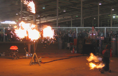 Maker Faire Austin Ring of Fire