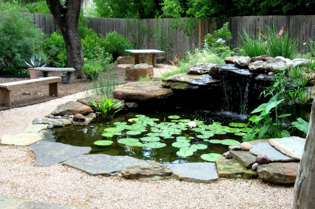 Pond designs natural pond designs for Design of pond garden