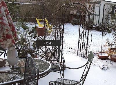 Annieinaustin,2011,02,flipped chair in snow