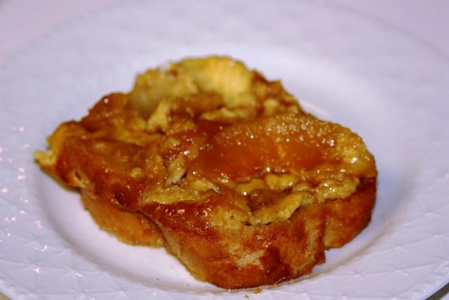 My Recipe Box: Kneaders Overnight Peach French Toast