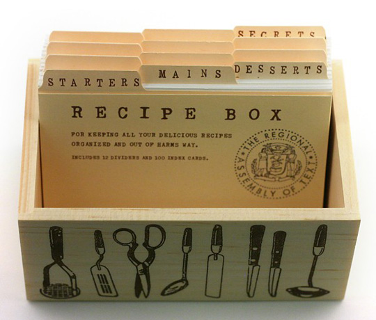 My Recipe Box