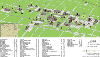 The Editor's Weblog: Nemesi Series: Campus Maps