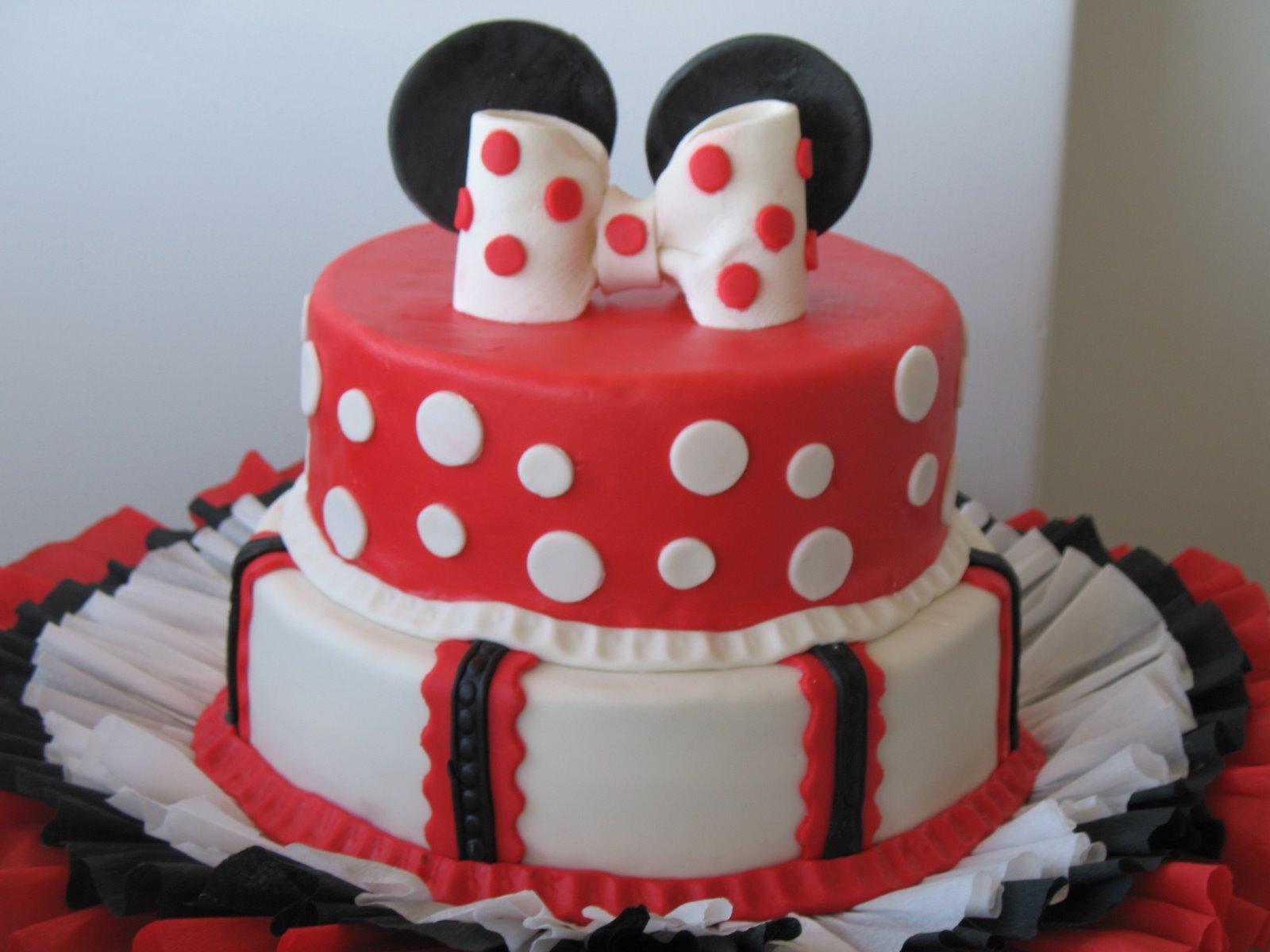 Delicias Caseras: Torta inspirada en Minnie Mouse
