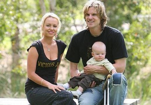 Nathan Bracken Wife Haley Rich Bracken1 Photos of Cricketers Wifes : Cricketers Wives and Girl Friend Pics,Images 