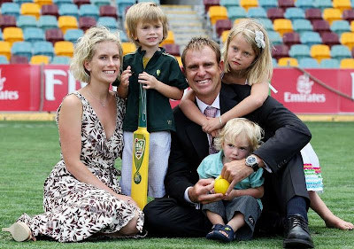 Mathew Hayden Wife Family Kids Retirement Photos of Cricketers Wifes : Cricketers Wives and Girl Friend Pics,Images
