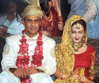 waqar+yunus+%2526+his+wife Photos of Cricketers Wifes : Cricketers Wives and Girl Friend Pics,Images