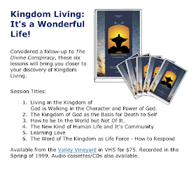 KINGDOM LIVING BY DALLAS WILLARD